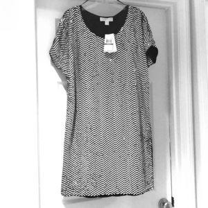 Black & white sequined Michael Kors dress!
